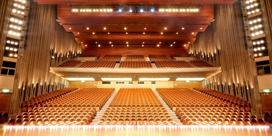 画像:大ホール客席