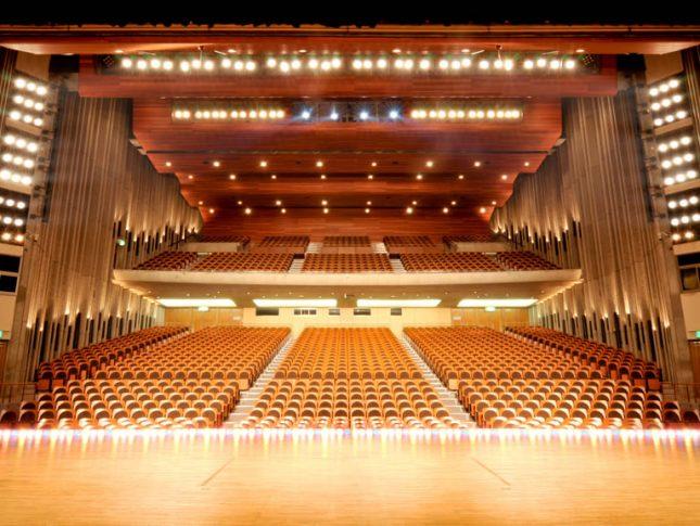 画像:大ホール