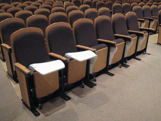 画像:座席表